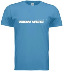 Twin Vee T-Shirt – Blue